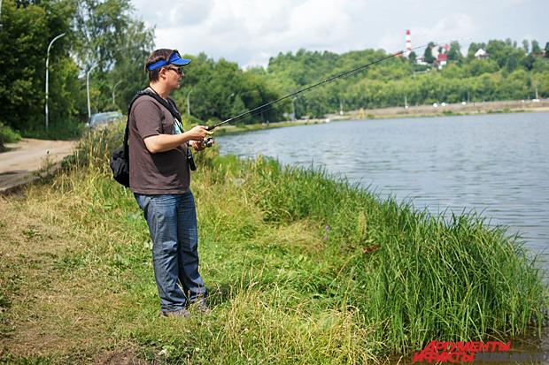 рыбалка в одиночестве